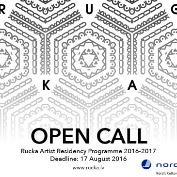 Rucka Artist Residency announces open call for residences 2016-2017