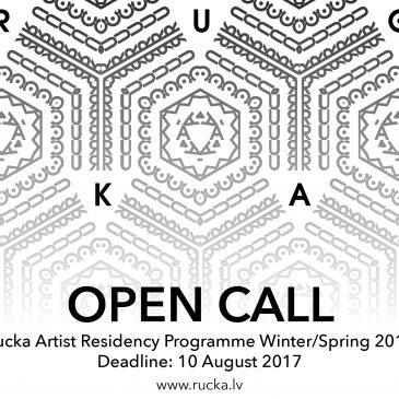 Open call for Rucka Artist Residency programme Winter/Spring 2018