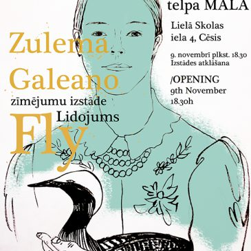 Exhibition FLY by artist Zulema Galeano