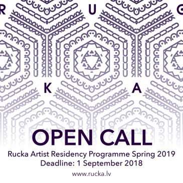 Open call for Rucka Artist Residency programme Spring 2019