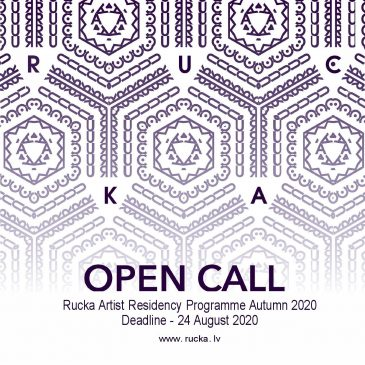Rucka Artist Residency announces an OPEN CALL for residency spaces for Autumn 2020