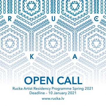 Rucka Artist Residency announces an OPEN CALL for residency spaces for Spring 2021