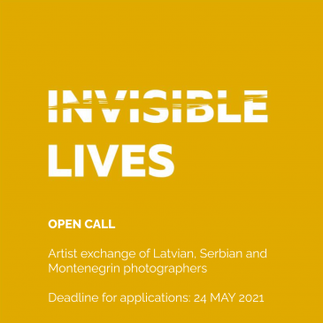 Open call for artist exchange of Latvian, Serbian and Montenegrin photographers