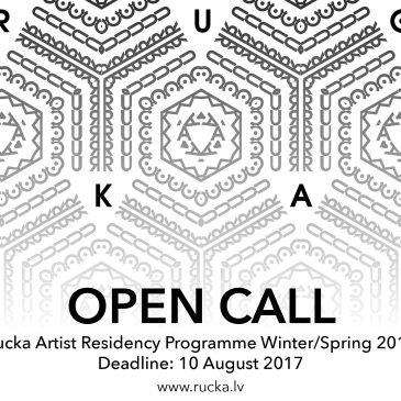 Open call for Rucka Artist Residency programme Winter/Spring 2018