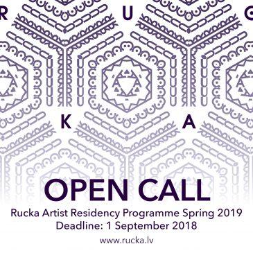 Ruckas mākslas rezidenču centrs izsludina pieteikšanos rezidencēm 2019. gadā
