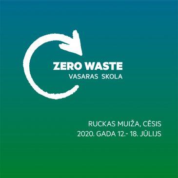 Sākusies pieteikšanās Zero Waste vasaras skolai